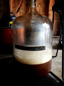 Fermenter filling up